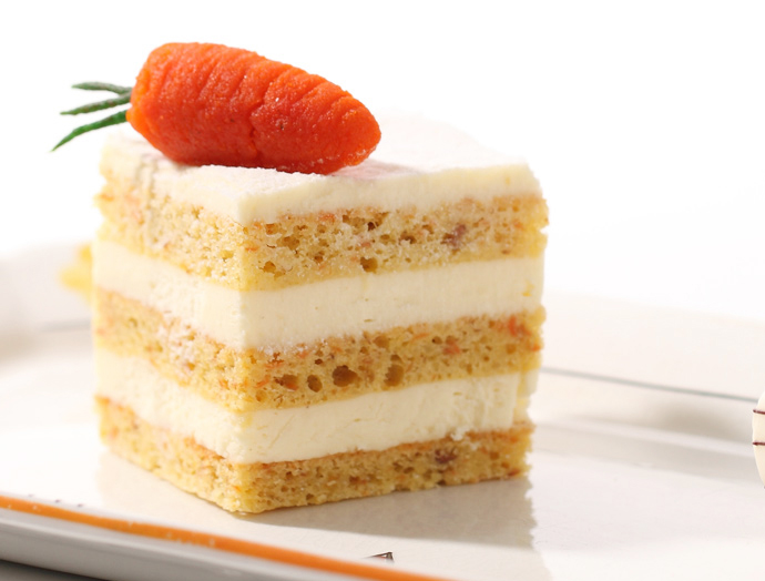 搭配胡萝卜甜美口感